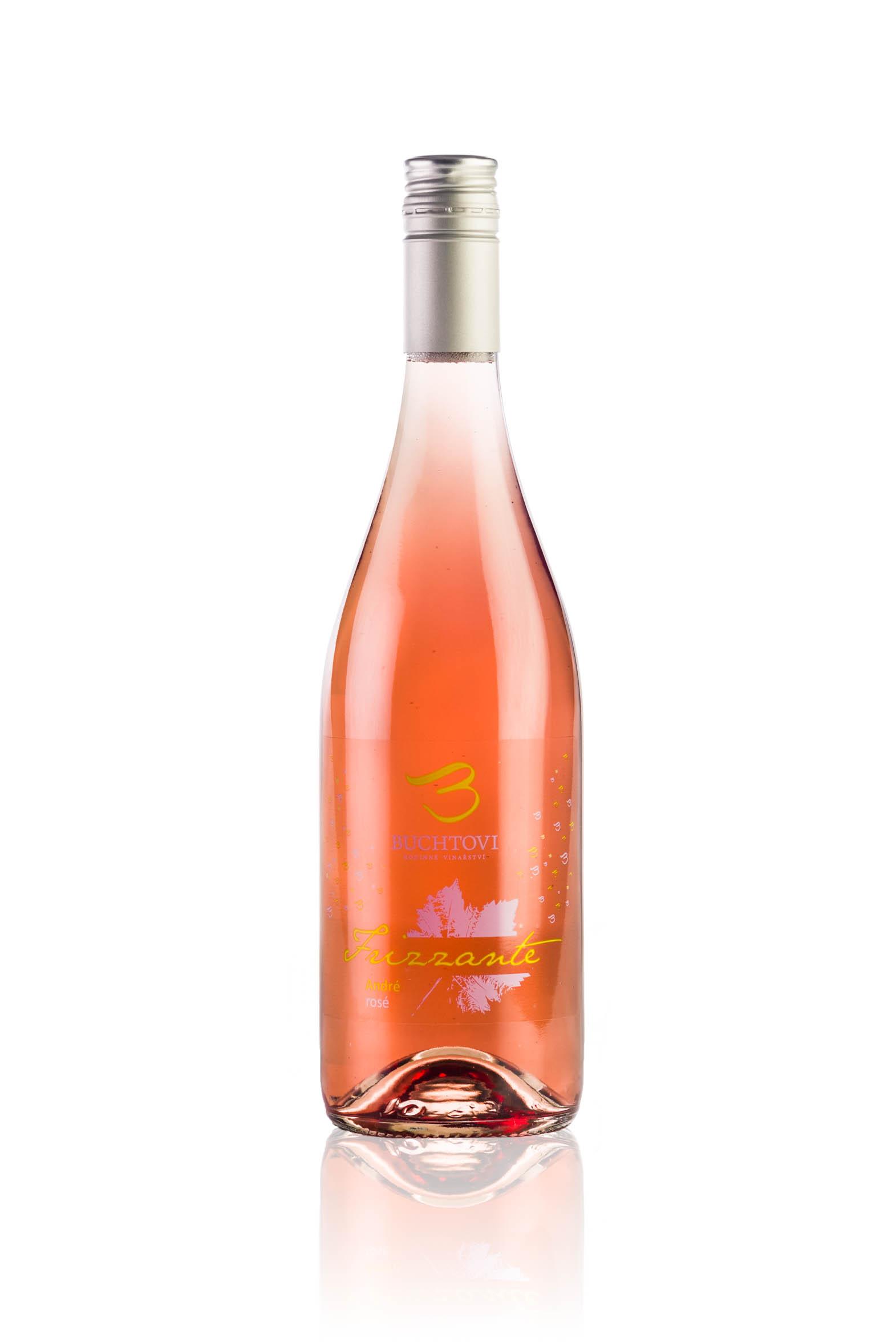 produkt_André Frizzante rosé r. 2015 DOPRODEJ