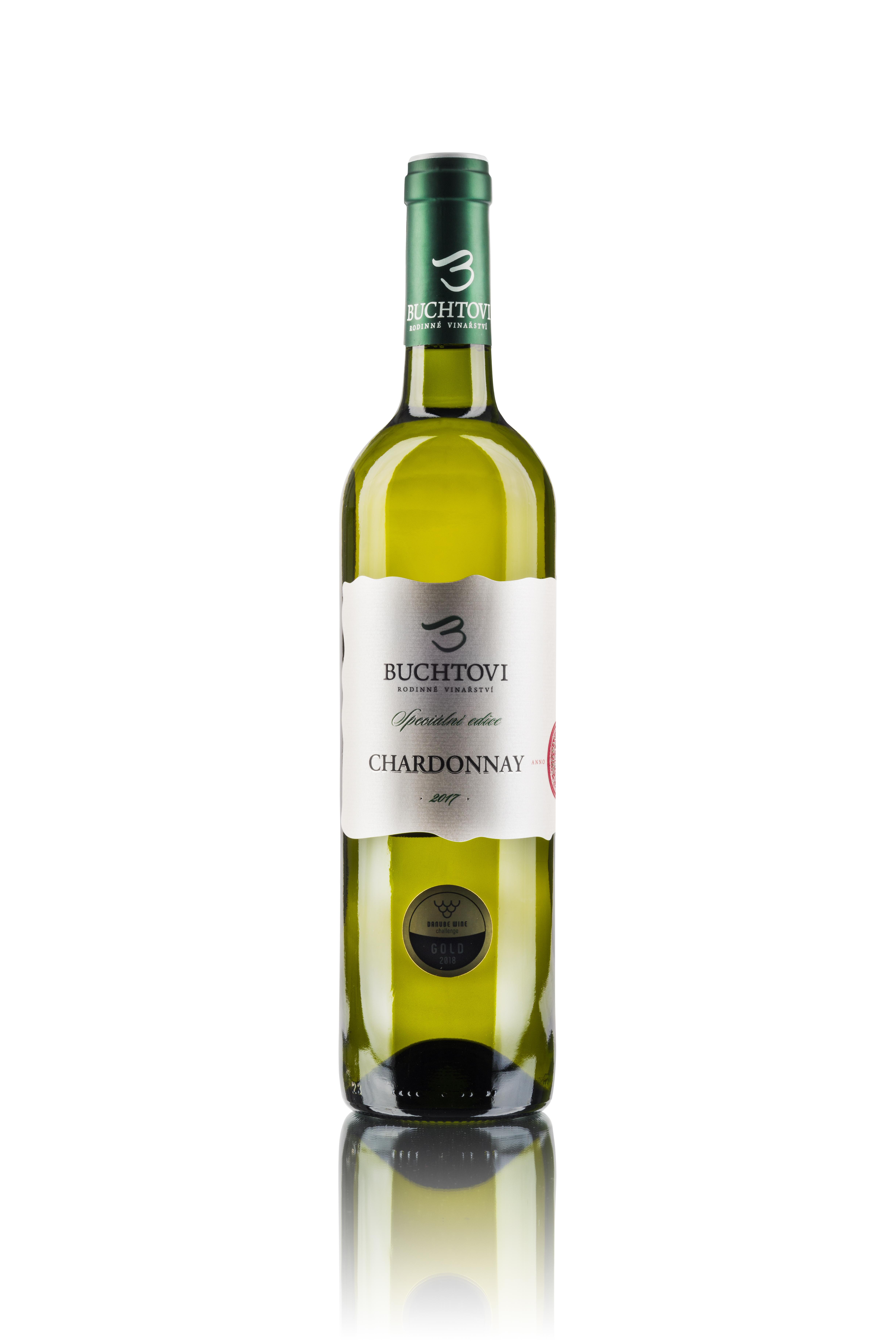 produkt_Chardonnay pozdní sběr 5/17  Speciální edice r. 2017