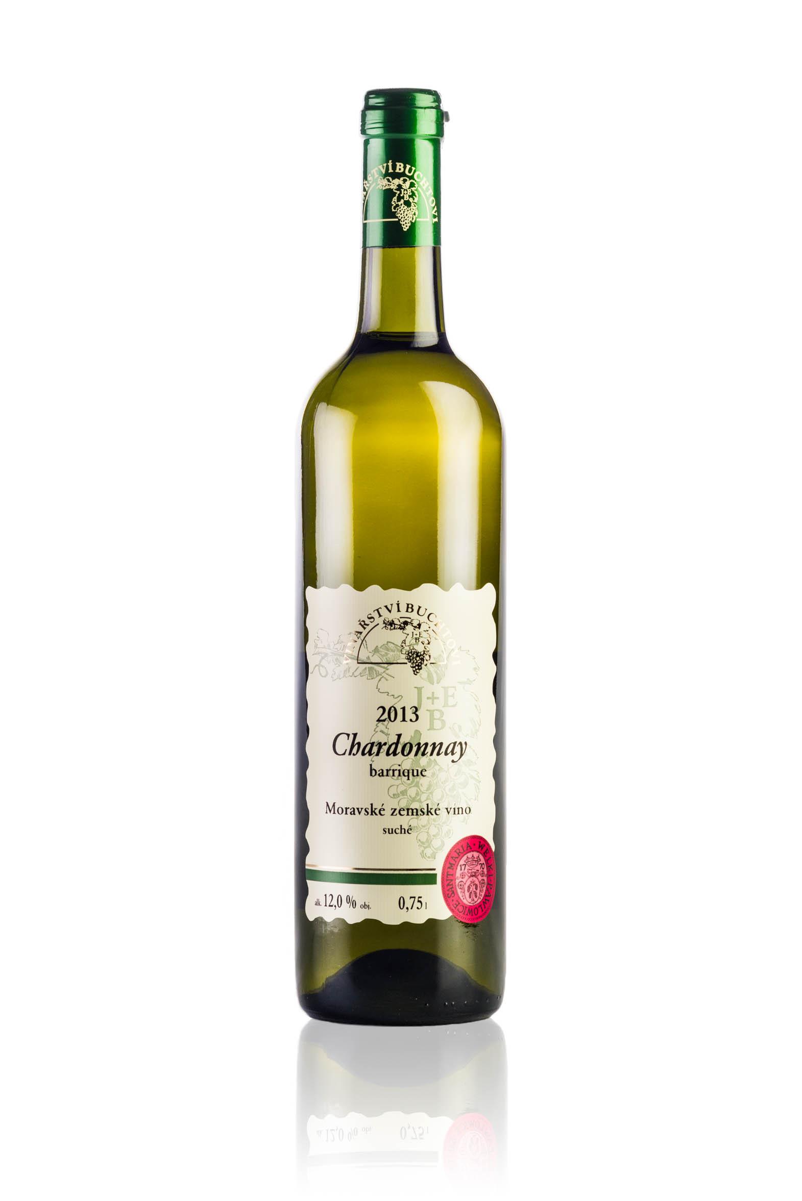 produkt_Chardonnay Barrique r. 2013 DOPRODEJ