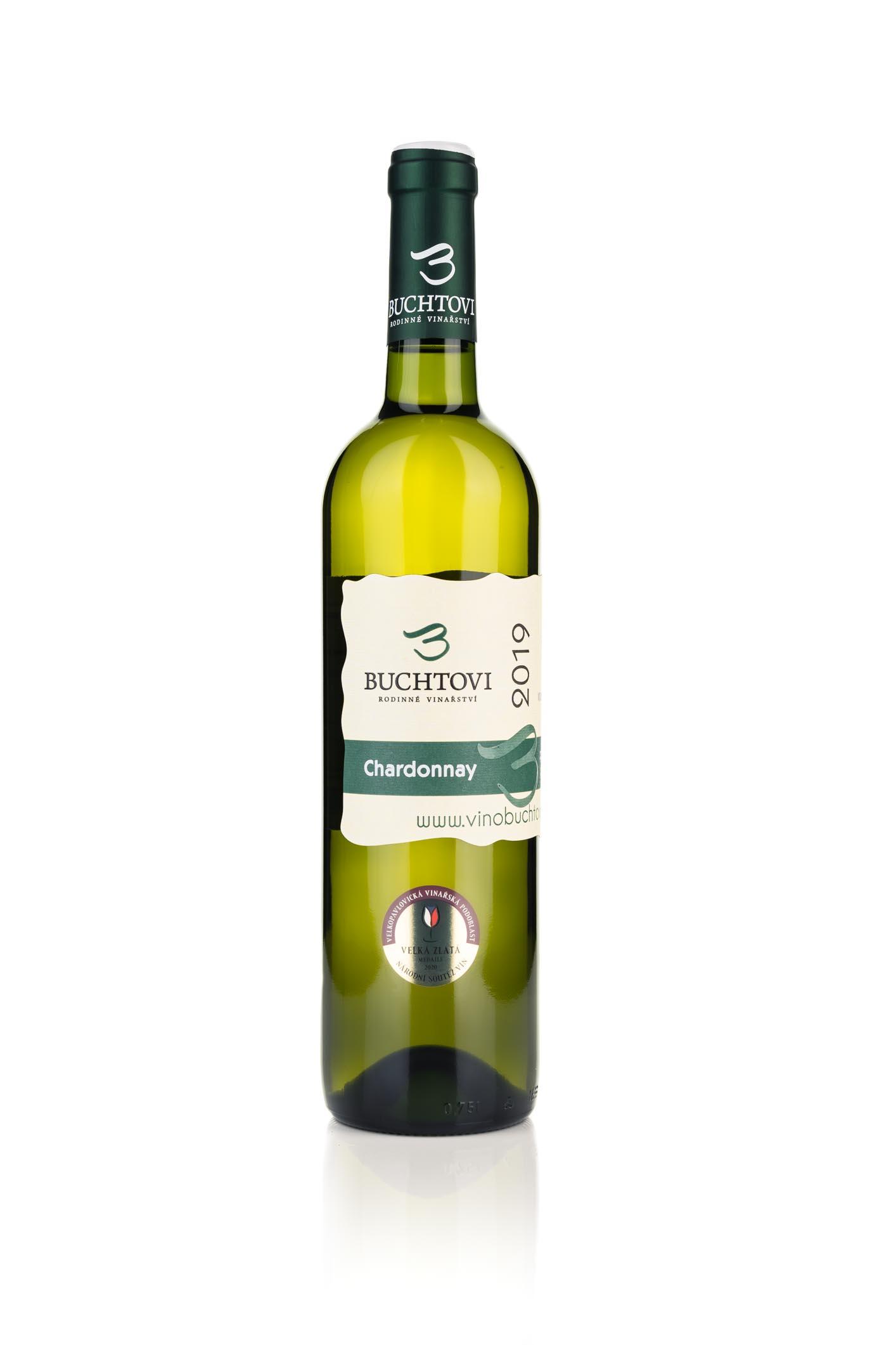 produkt_Chardonnay pozdní sběr 4/19  r. 2019